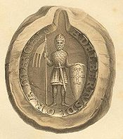 The seal of Albert the Bear.