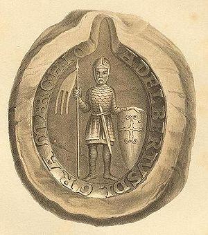 Albert the Bear - The seal of Albert the Bear.