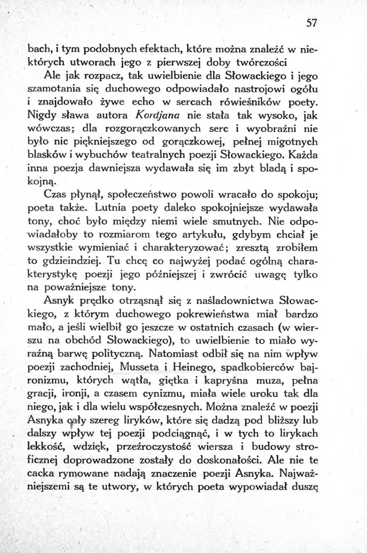 Strona Adam Asnyk Jako Wyraz Swojej Epoki Djvu 058 Wikizrodla