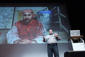Adam Sadowsky - Adam Sadowsky presenting at Cusp Conference 2011, Chicago, IL