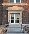 Adelaide Miller Hall N side W door.JPG