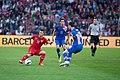 Adelino Vieirinha (L), Darijo Srna (C) - Croatia vs. Portugal, 10th June 2013.jpg