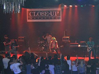 Adept (band) - Adept performing in 2011