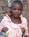 Adolescent Girl with Baby - Cyangugu (Rusizi) - Rwanda (9008684145).jpg