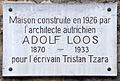 Adolf Loos plaque - 15 rue Junot, Paris 18.jpg
