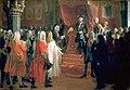 Adolph Menzel - Huldigung der Stände Schlesiens zu Breslau im Jahre 1741.jpg