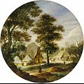 Adriaen van Stalbemt - Landscapes with trees and farm houses.jpg