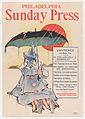 Advertisement for Philadelphia Sunday Press- April 7, 1896 MET DP866323.jpg