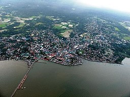 Aerial View of Sorsogon City
