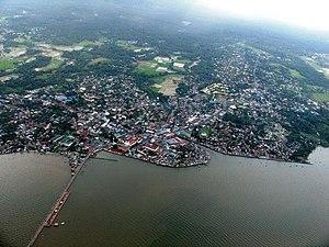Sorsogon City - Aerial View of Sorsogon City