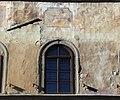 Affreschi della facciata di palazzo dell'antella, 1619, primo piano 06 figura con libro (rosselli) e uomo a cavallo (gdsg) e contemplazione.JPG