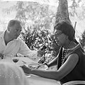 Afhalen van Josephine Baker in Frankrijk Van Stipriaan interview J B, Bestanddeelnr 912-6473.jpg