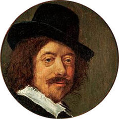 Self-portrait of Frans Hals