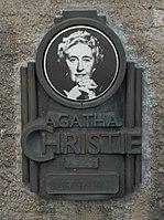 150px-Agatha_Christie_plaque_-Torre_Abbey