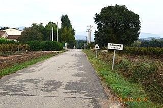 Aghione Commune in Corsica, France