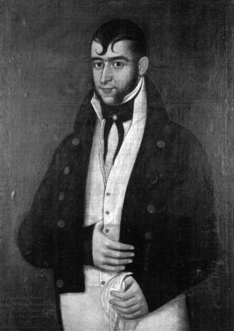 Agustín Viesca - Portrait of Agustin Viesca y Montes
