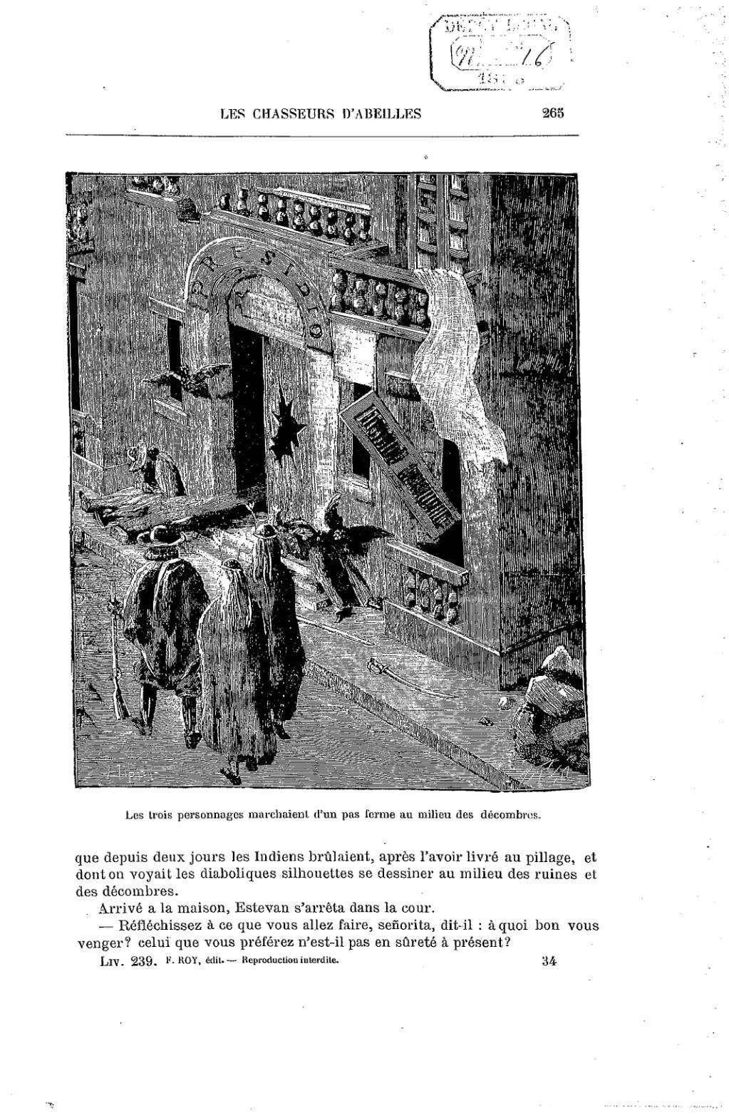 Maison En Ruine Dessin page:aimard - les chasseurs d'abeilles, 1893.djvu/269