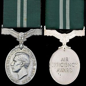 Air Efficiency Award - Second King George V version