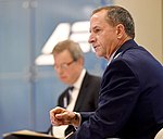 Air Force Chief of Staff General David L. Goldfein discusses the current state and future of American airpower with former Senator Jim Talent at the American Enterprise Institute Public Forum in Washington, D.C.jpg