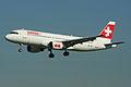 Airbus A320-214 HB-IJN Swiss International (6910756552).jpg