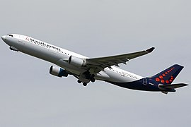 Airbus A330-300 der Brussels Airlines