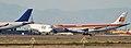 Airbus A340s at Goodyear, Arizona (13128838003).jpg