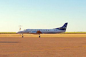 Airnorth - Airnorth Fairchild Metro 23 at Kununurra Airport