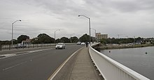 Airport Drive bridge accross Cooks river, Mascot NSW