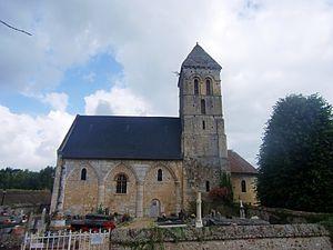 Aizier - Image: Aizier église 1