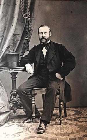 Bonnier family - Image: Albert Bonnier 1854