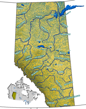 Geography of Alberta - Wikipedia, the free encyclopedia