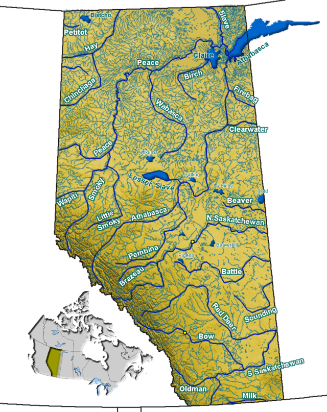High River Alberta Canada Map.Little Bow River Wikiwand