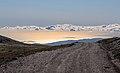 Alboran Sea viewed from Transnevada Ruta H in Pórtugos, Sierra Nevada National Park (DSCF5059).jpg