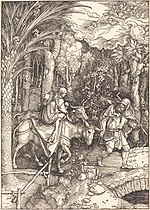 Albrecht Dürer, The Flight into Egypt, c. 1504, NGA 6706.jpg