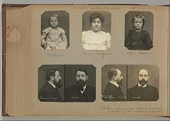 Album of Paris Crime Scenes - Attributed to Alphonse Bertillon. DP263821.jpg