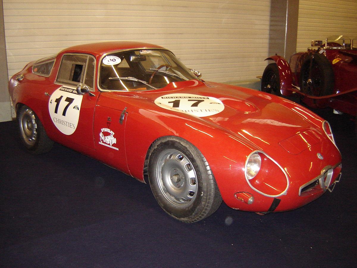 Px Alfa Romeo Giulia Tubolare Zagato