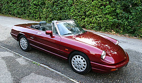Alfa Romeo Spider Wikipedia - 1993 alfa romeo spider for sale