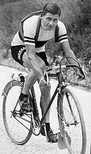 Alfredo Binda Italian cyclist