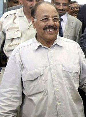 Ali Mohsen al-Ahmar - Image: Ali Mohsen al Ahmar (cropped)