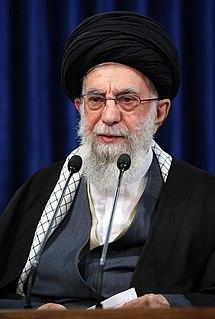 Ali Khamenei Supreme Leader of Iran since 1989