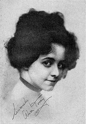 Alice Dovey - The Actors' Birthday Book, 1909