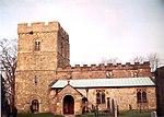 All Saints Church, Bradbourne - geograph.org.uk - 12719