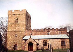 All Saints Church, Bradbourne - geograph.org.uk - 12719.jpg