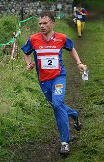 Allan Mogensen Danish orienteer