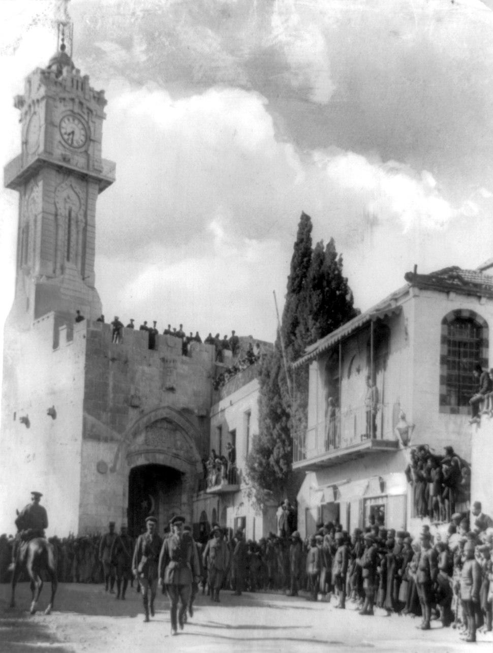 Allenby enters Jerusalem 1917