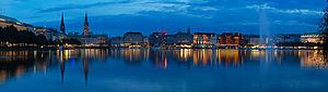 Hamburg - Image: Alster Hd pano a