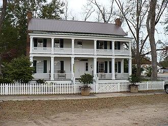 Alston–Cobb House - The Alston–Cobb House in 2008