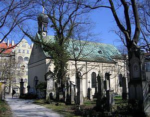 Alter Südfriedhof - St. Stephan