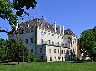 Laxenburg castles - Altes Schloss in Laxenburg