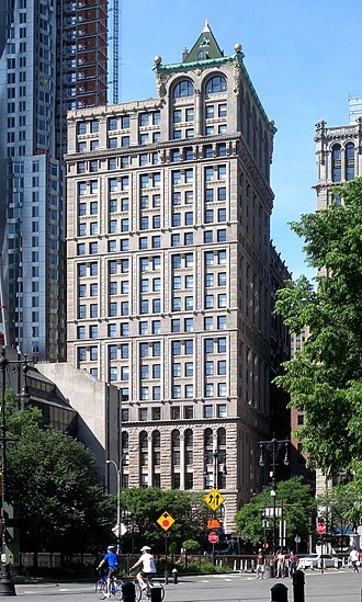 R. H. Robertson - American Tract Society Building at 150 Nassau Street (1894=1895)